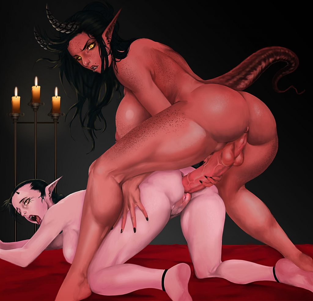 demon futanari porn